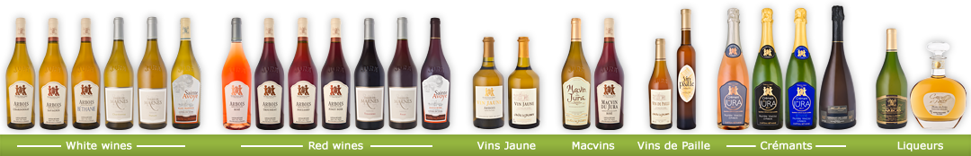 Wines of Fruitière Vinicole d'Arbois