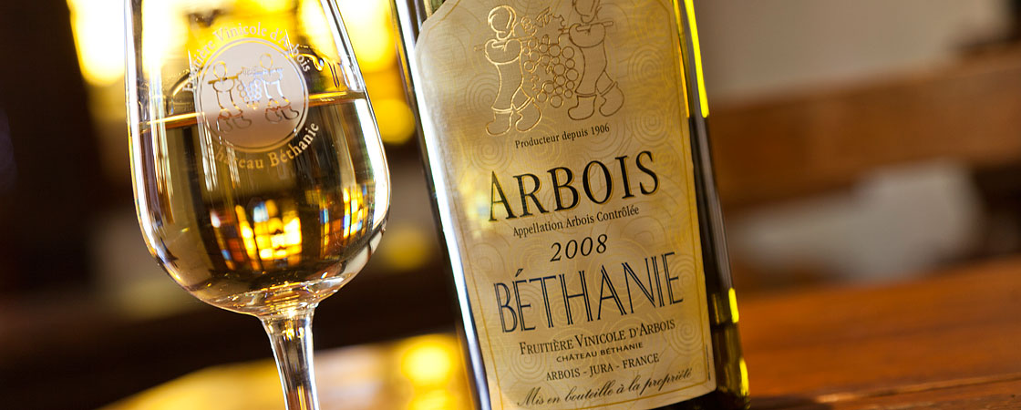 photo vin d arbois blanc bethanie